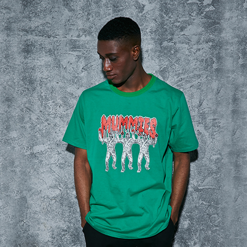 MUMMIES T-SHIRTS_GREEN (20% 할인)