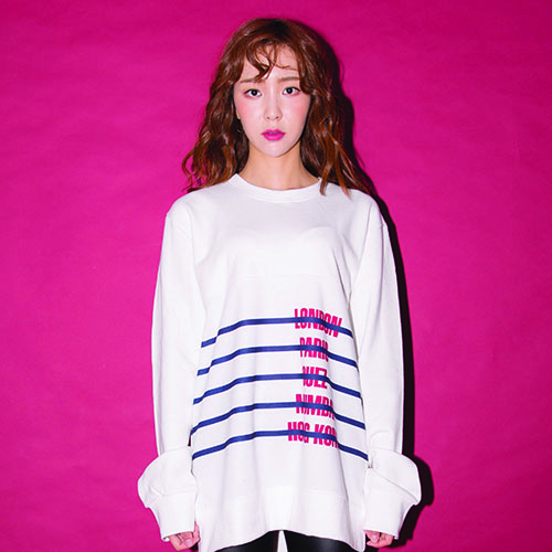 CITY-STRIPE SWEAT SHIRT_WHITE_(20%할인)